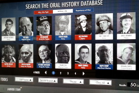 New Orleans, Museo della II Guerra Mondiale, archivio digitale
